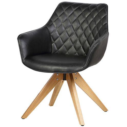 Cadeira-Emanoela-PU-Vintage-Preto-Base-Madeira-
