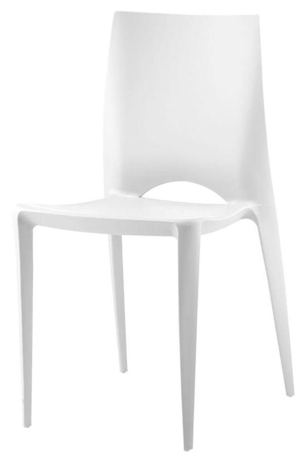 Cadeira Daiane Produzida em Polipropileno Branco - 11376