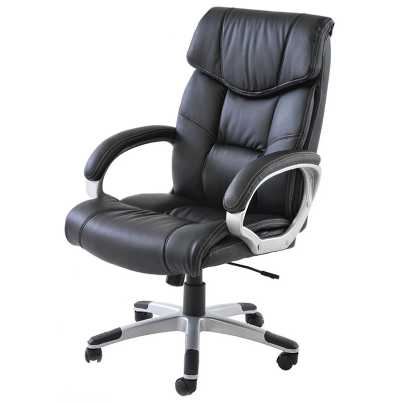 Cadeira-Office-Cartagena-PU-Preto-Base-Nylon