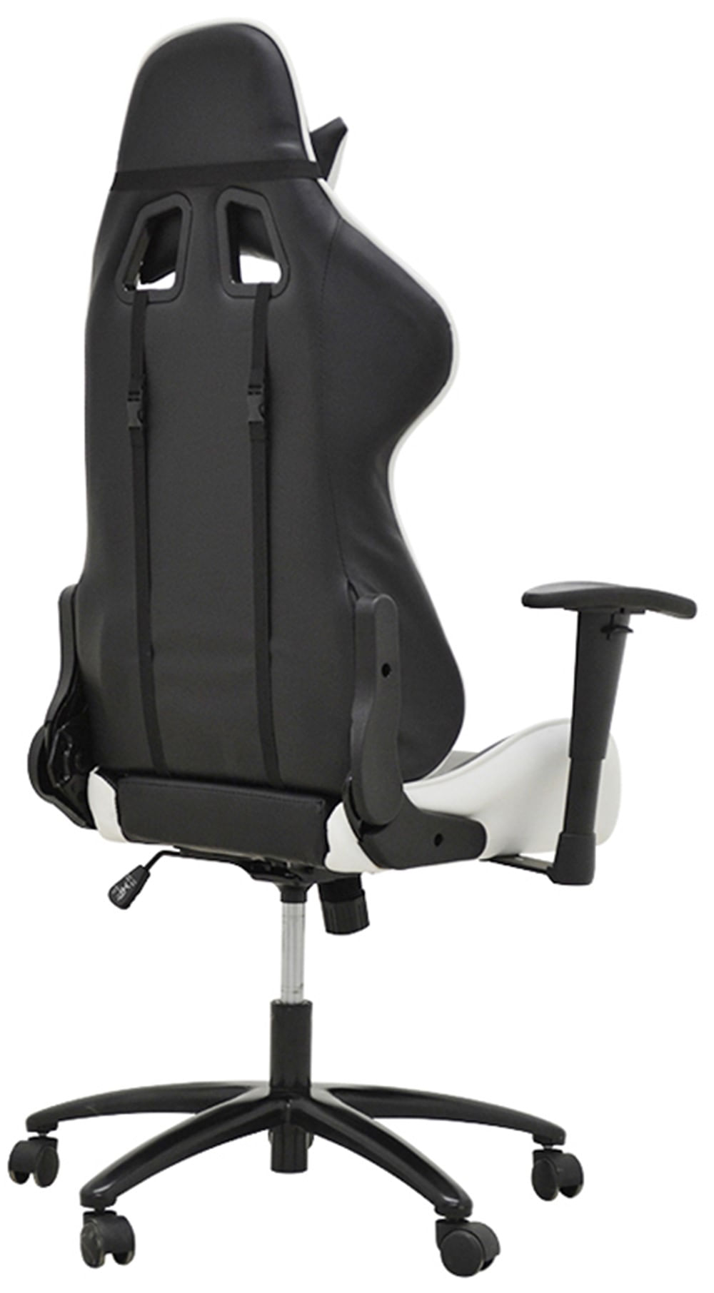 Cadeira Office Pro Gamer V2 em PU Preta e Branca - 27710