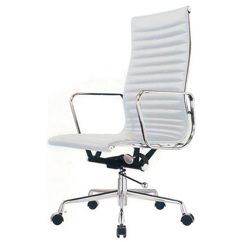 Cadeira-Office-Madrid-Alta-PU-Branco-Base-Aluminio
