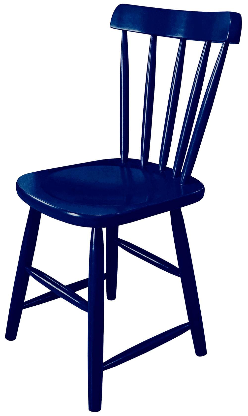 Cadeira Skand Assento Escavado Cor Azul - 33365