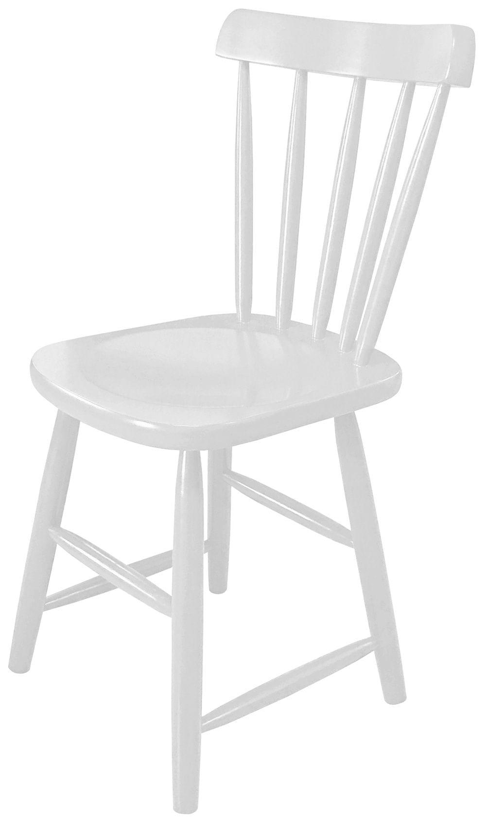 Cadeira Skand Assento Escavado Cor Branco Fosco - 33366