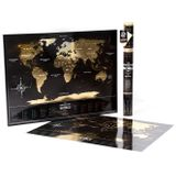 Mapa-Mundi-de-Viagens-Raspavel-Cor-Black-e-Gold