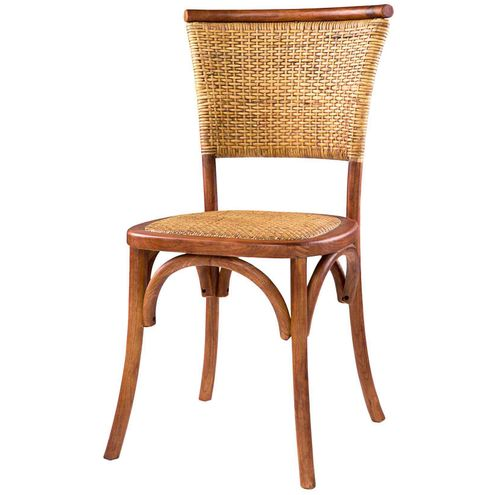 Cadeira-Tonarte-Assento-Rattan-Cor-Madeira-Natural