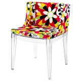 Cadeira-Mademoiselle-Estampa-Floral-Camelias-Base-Transparente