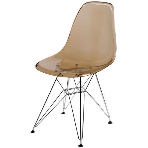 Cadeira-DKR-Eames-Policarbonato-Ambar-Base-Cromada