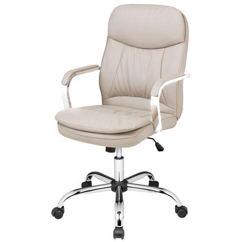 Cadeira-Office-Nantes-Baixa-PU-Fendi-Base-Cromada-