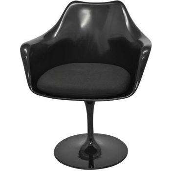 Cadeira-Saarinen-com-Braco-Preto-Base-Giratoria---40554