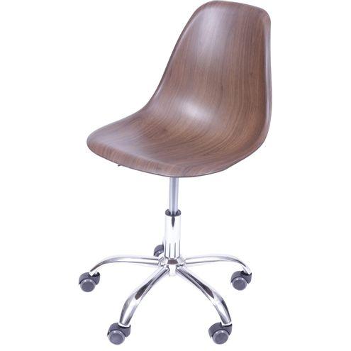 Cadeira-Eames-com-Rodizio-Polipropileno-Amadeirado-Escuro---40601