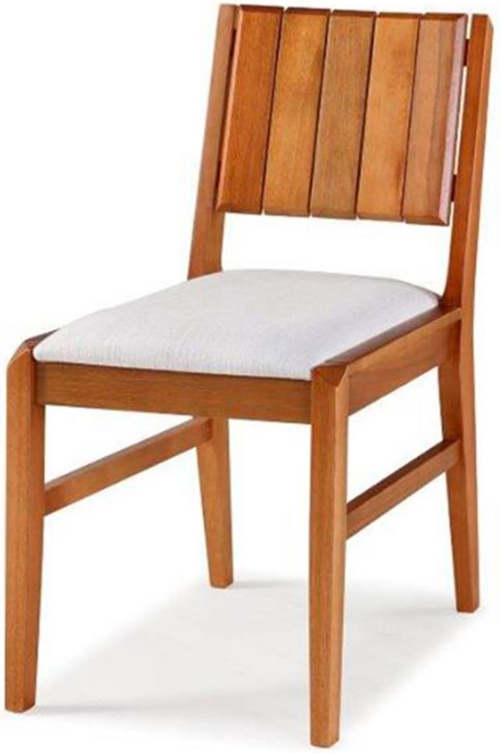 Cadeira Salvador Verniz Jatoba Estofada 43cm - 40726