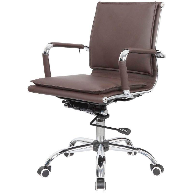 Cadeira-Escritorio-Eames-Top-Baixa-Marrom-Base-Cromada---41004