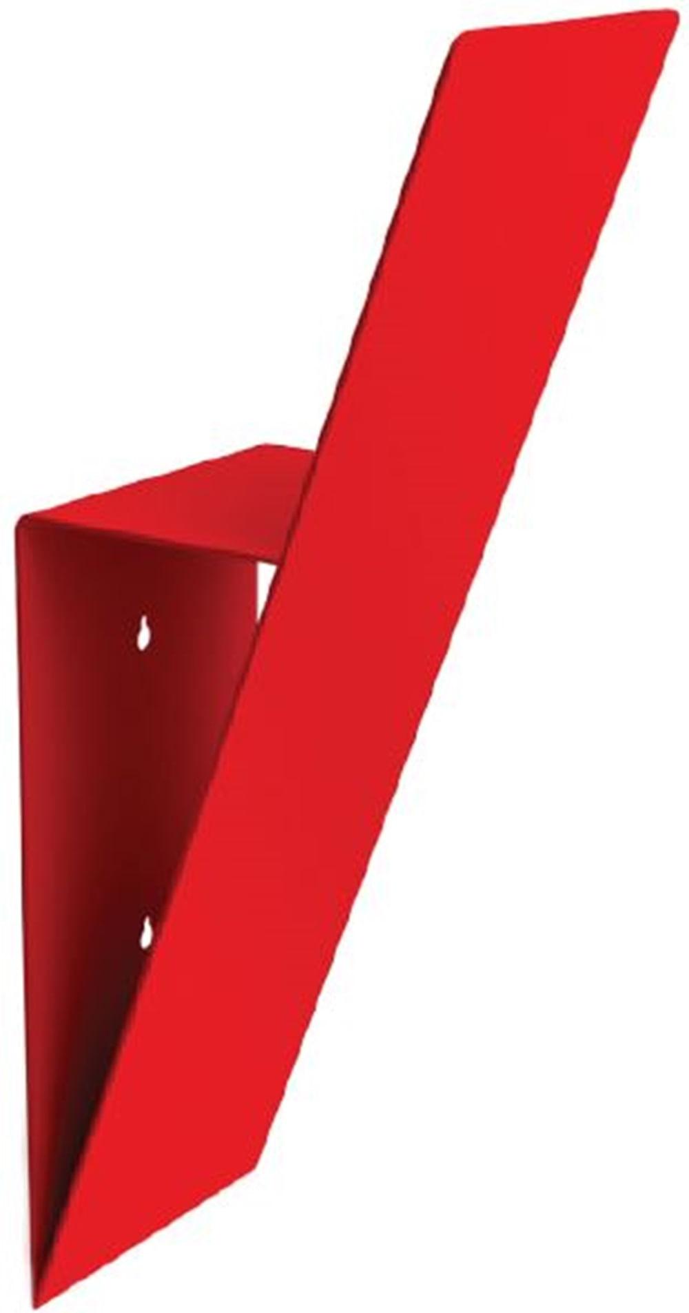 Cabideiro Individuale Estrutura Aco Pintado Vermelho 43 cm (ALT) - 40674