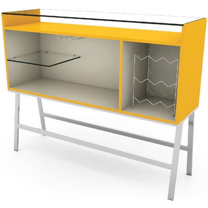Buffet-Bar-Conti-MDF-Amarelo-Estrura-Cromada-135-MT--LARG----41122-