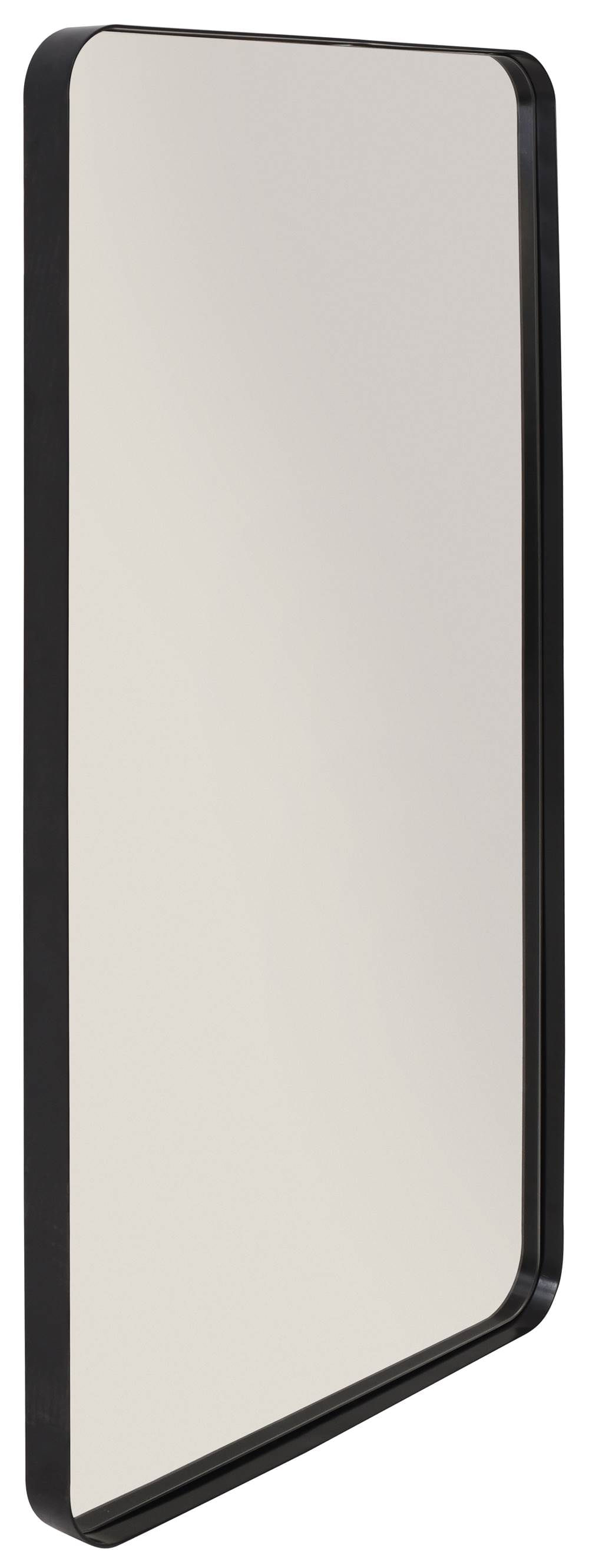 Espelho Retangular Pereque Preto 80 cm (ALT) - 41461