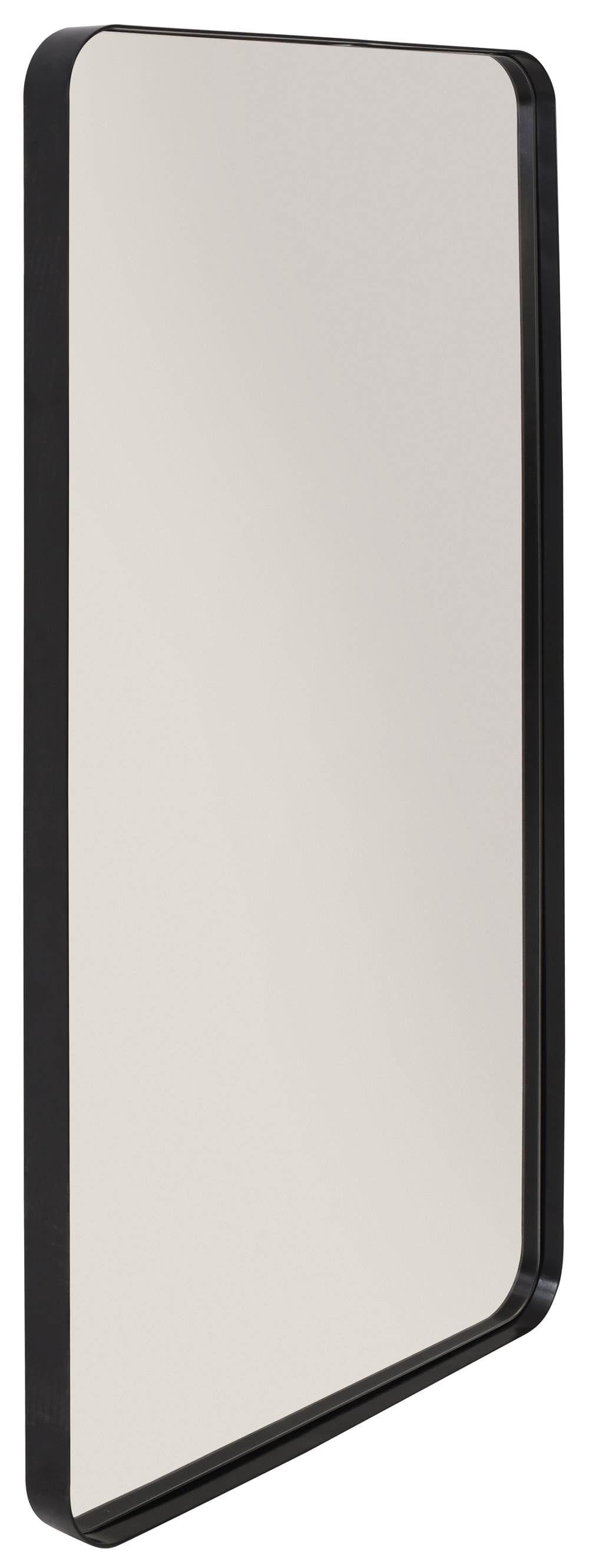 Espelho Retangular Pereque Preto 1,35 MT (ALT) - 41462