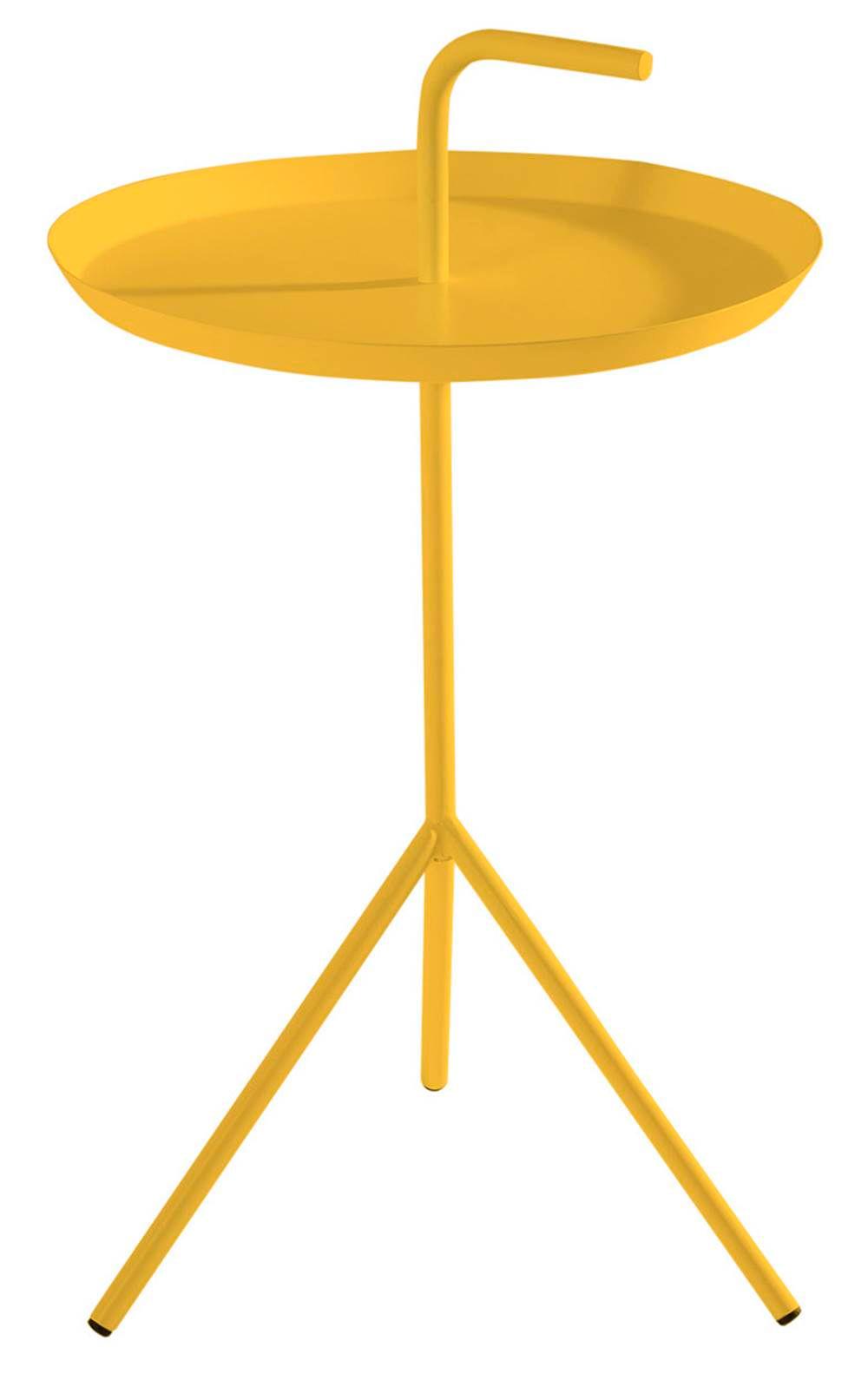 Mesa Apoio Handle Amarelo Aco 41 cm (LARG) - 41577