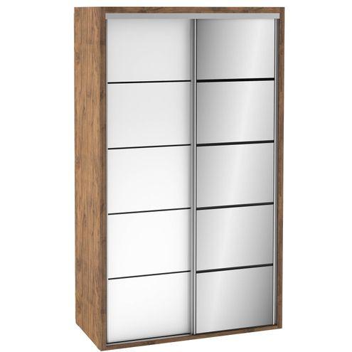 Roupeiro-2-Portas-de-Correr-TW104E-com-Espelho-cor-Nobre-com-Branco-Brilho---42069