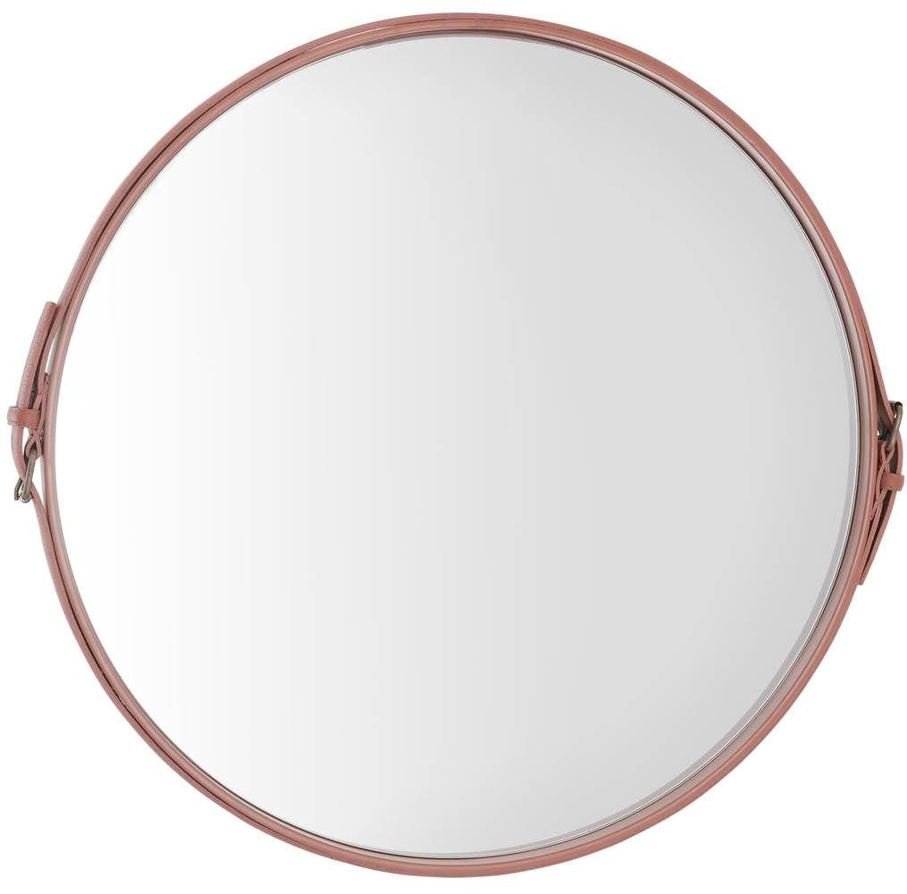 Espelho Fontenelle Couro Terracota 75 cm (LARG) - 40467