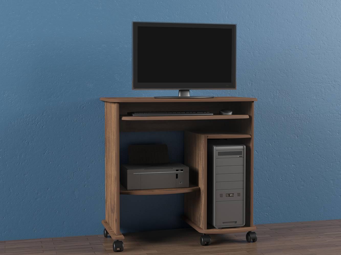 Mesa para Computador Aracaju cor Nobre - 24125