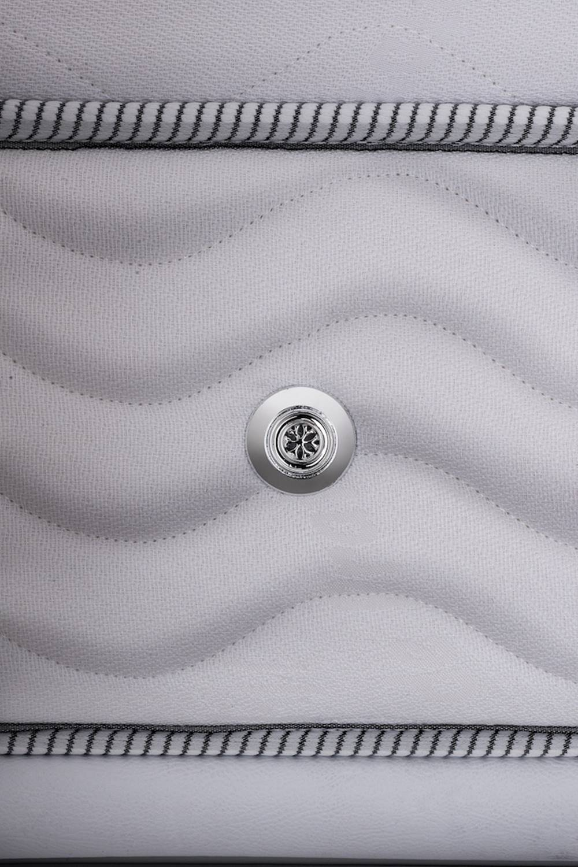 Colchao Freedom Super King 193 cm (LARG) Branca com Cinza - 42518