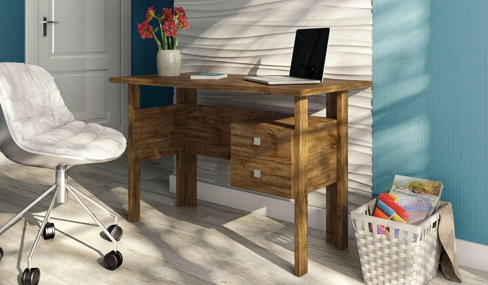 Mesa para Computador Inove cor Nobre - 24953