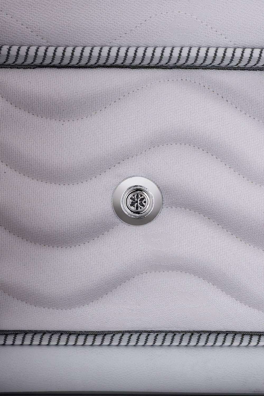 Colchao Freedom Solteiro 88 cm (LARG) Branca com Cinza - 42509