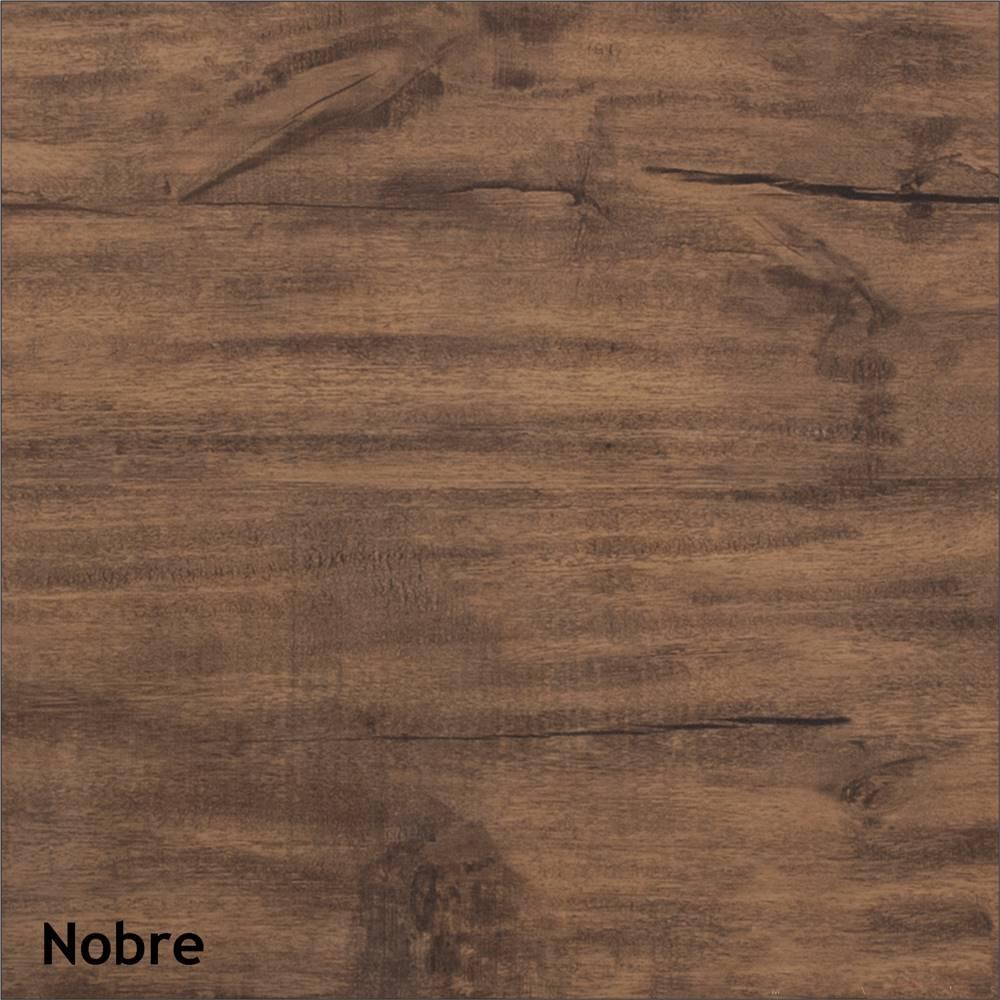 Estante para Livros Franklin cor Nobre e Preto com Brilho - 23271