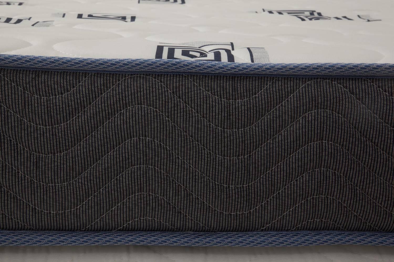 Colchao Light D33 Alto Solteiro 88 cm (LARG) Branco e Azul - 42624
