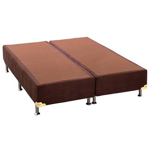 Base-de-Cama-Box-Camurca-Marrom-Queen-158-cm--LARG--Baixa---42907