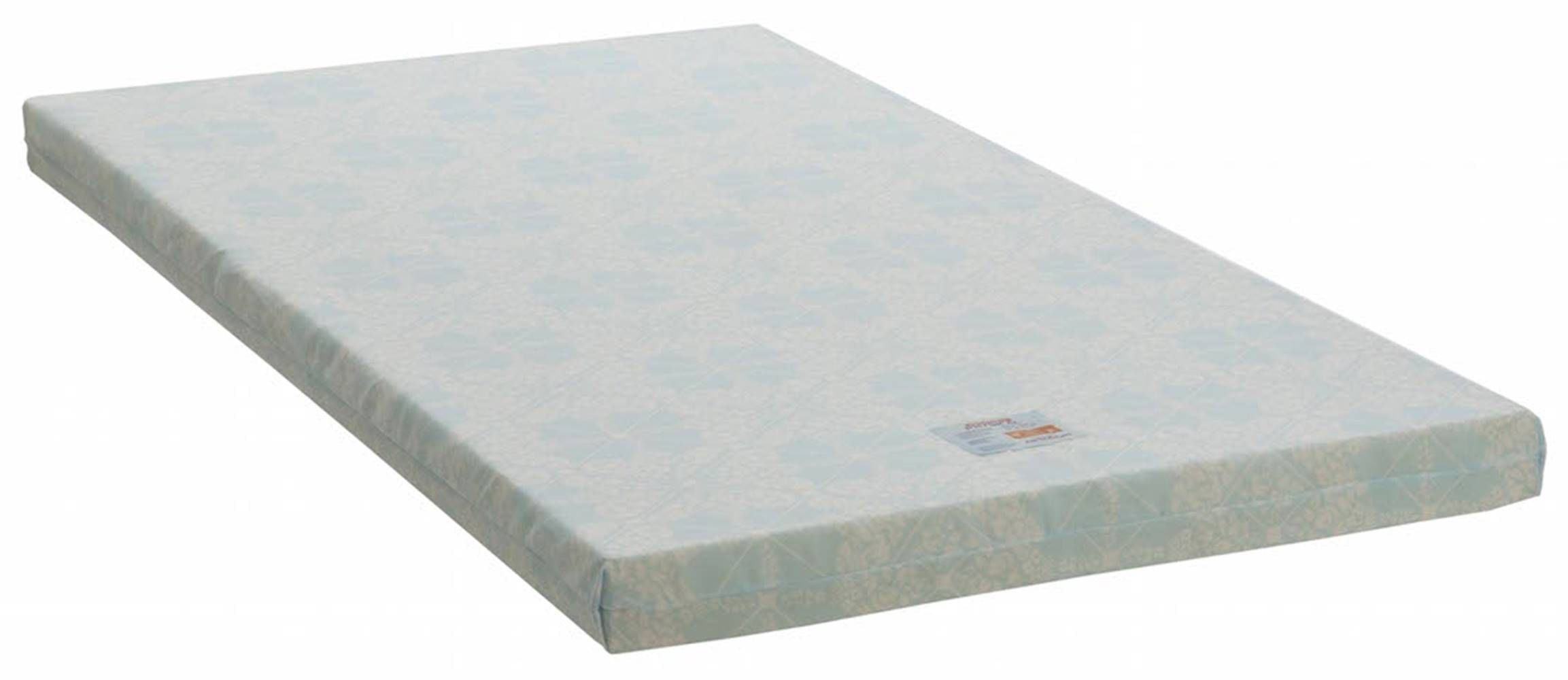Colchonete Physical Alto Solteiro 88 cm (LARG) Branco e Azul - 42954
