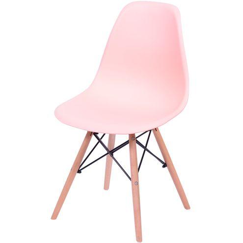 Cadeira-Eames-Polipropileno-Salmao-Fosco-Base-Madeira---43038