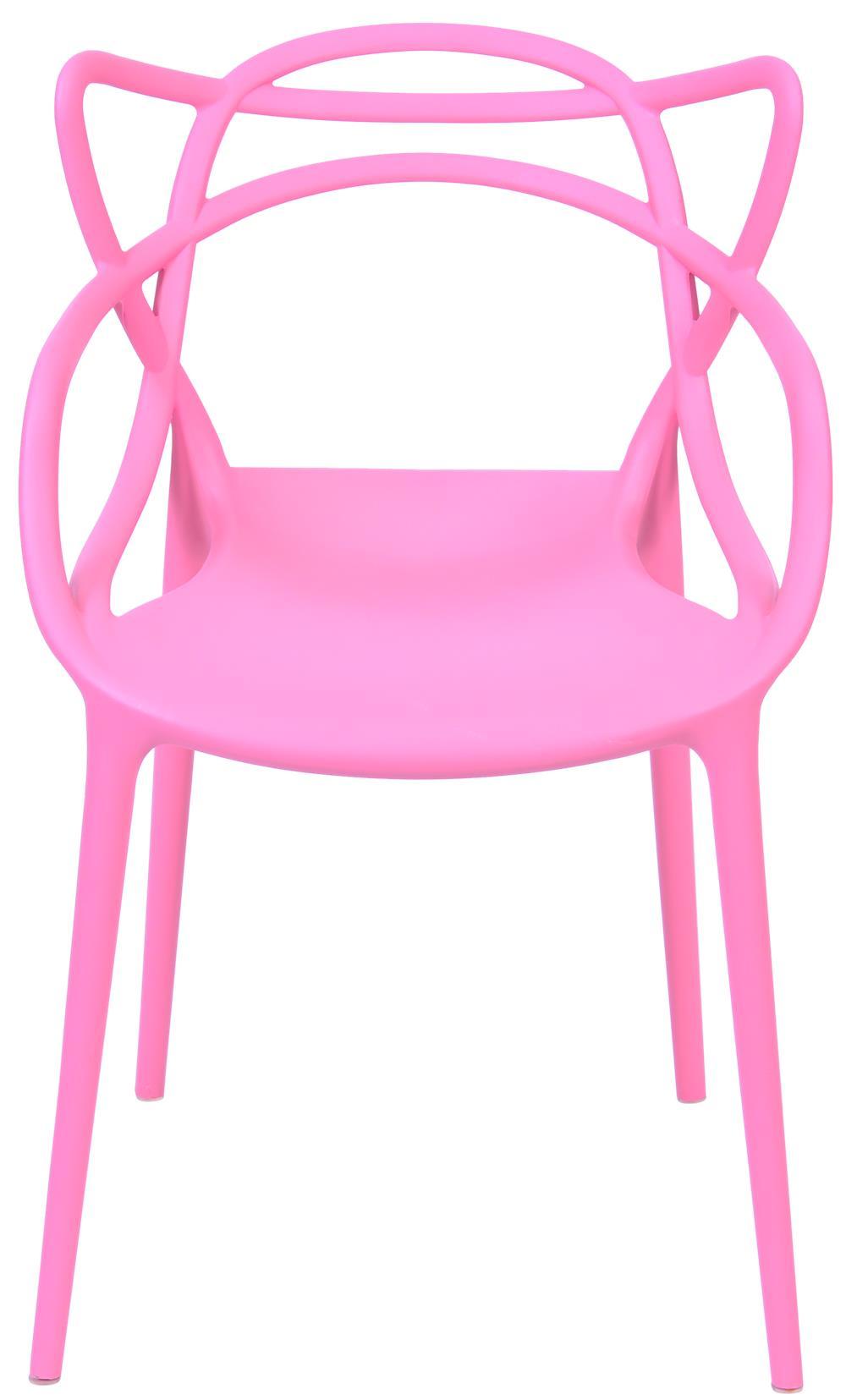 Cadeira Master Allegra Polipropileno Rosa - 43089