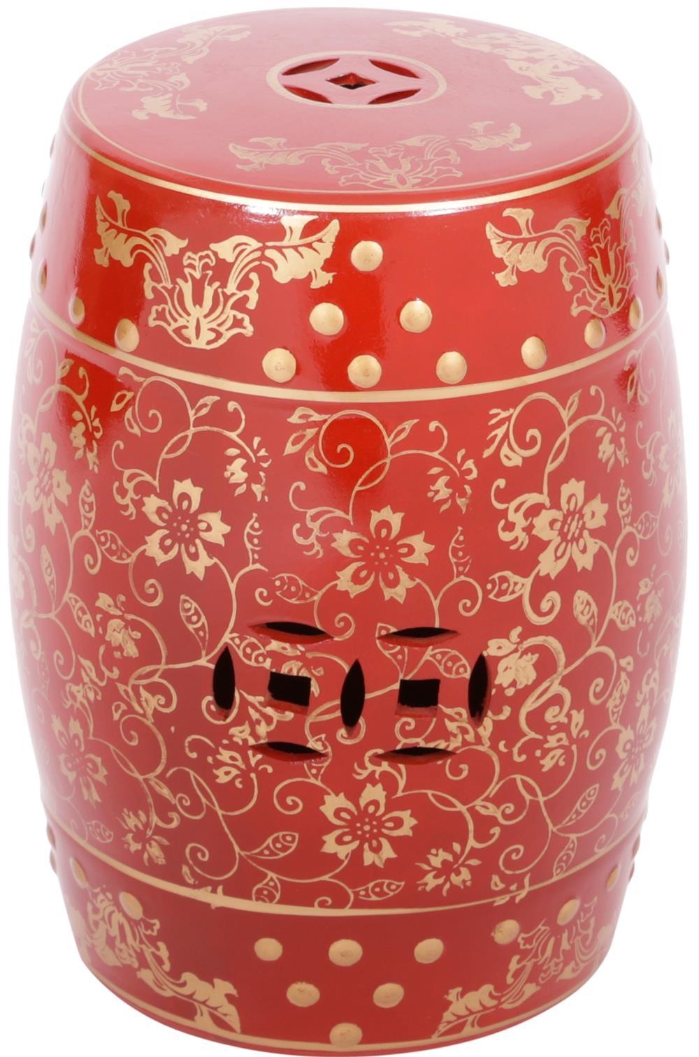 Seat Garden Maia Vermelho e Dourado - 43096
