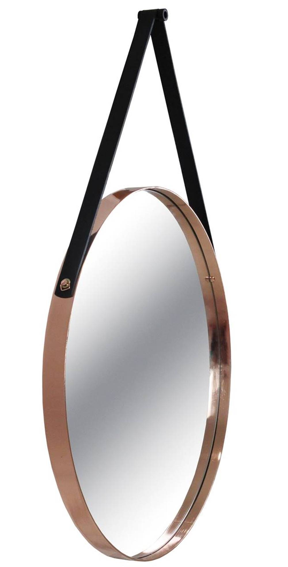 Espelho Redis Moldura Banhada cor Rose 75 cm (LARG) - 43553