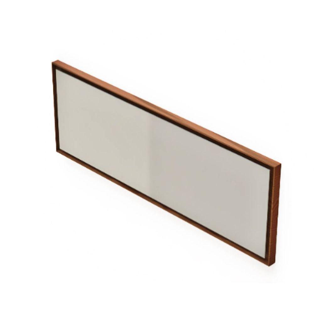 c1d85d1b313 Espelho Retangular Martis Moldura em Lamina Nogueira 135 cm (LARG) - 43563  - SunHouse