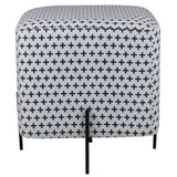 Puff-Golden-Estampado-Mais-com-Base-Aco-cor-Preto---43565