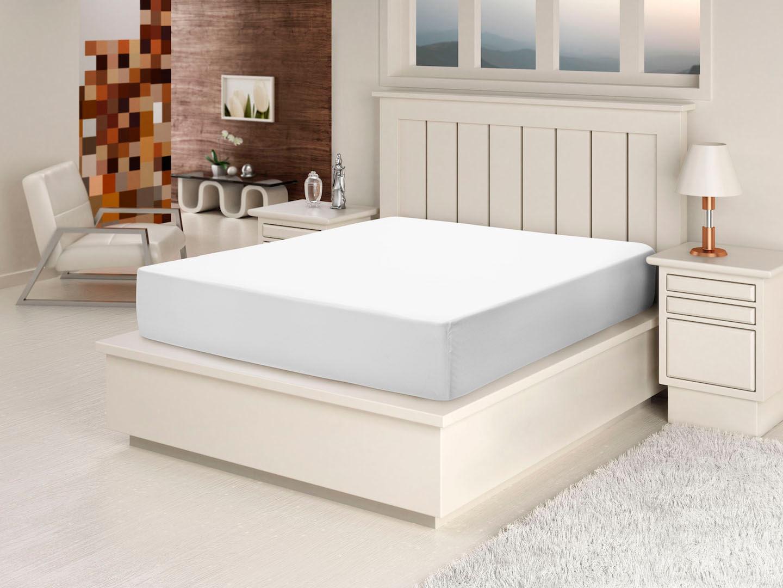 Protetor para Colchao cor Branco Casal 140 cm (LARG) - 43587