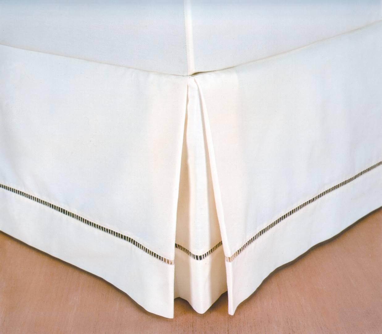 Saia para Cama Box cor Branco King 190 cm (LARG) - 43593