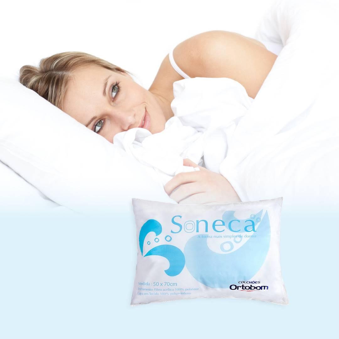 Travesseiro Soneca cor Branco - 43607