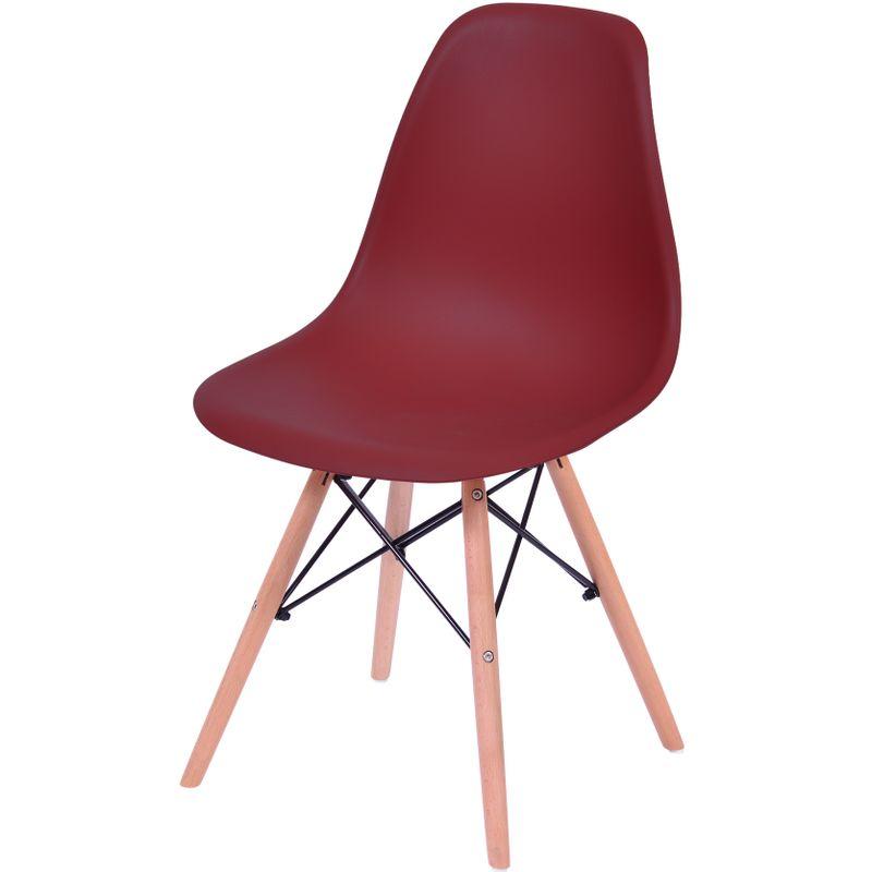 Cadeira-Eames-Polipropileno-Terra-Fosco-Base-Madeira---43035