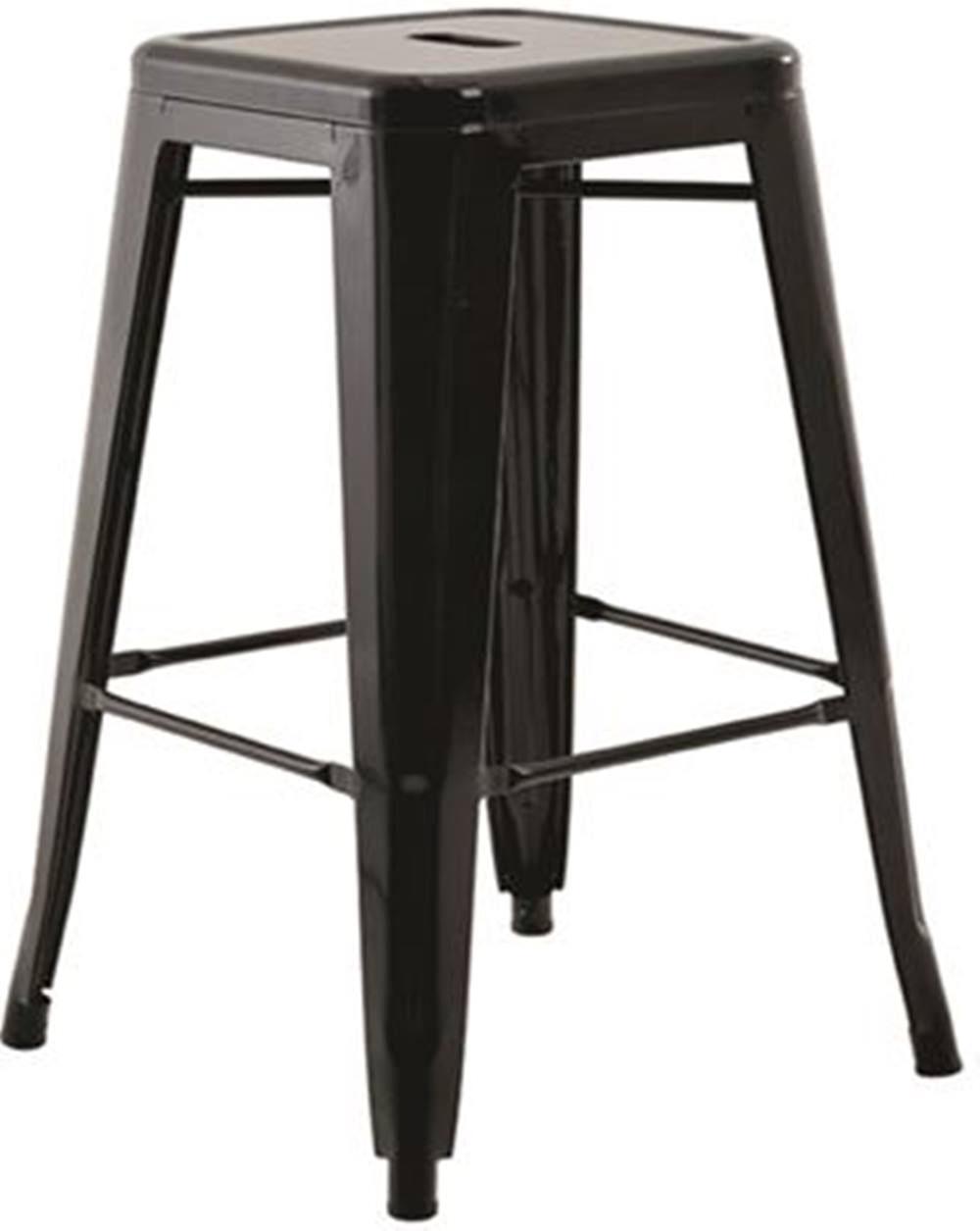 Banqueta Iron Medio Preto 61 cm (ALT) - 43431