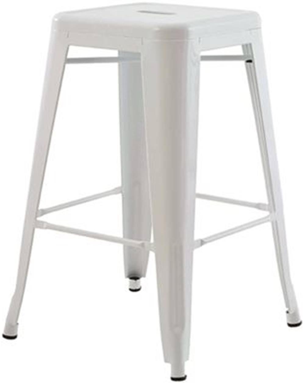 Banqueta Iron Medio Branca 61 cm (ALT) - 43432