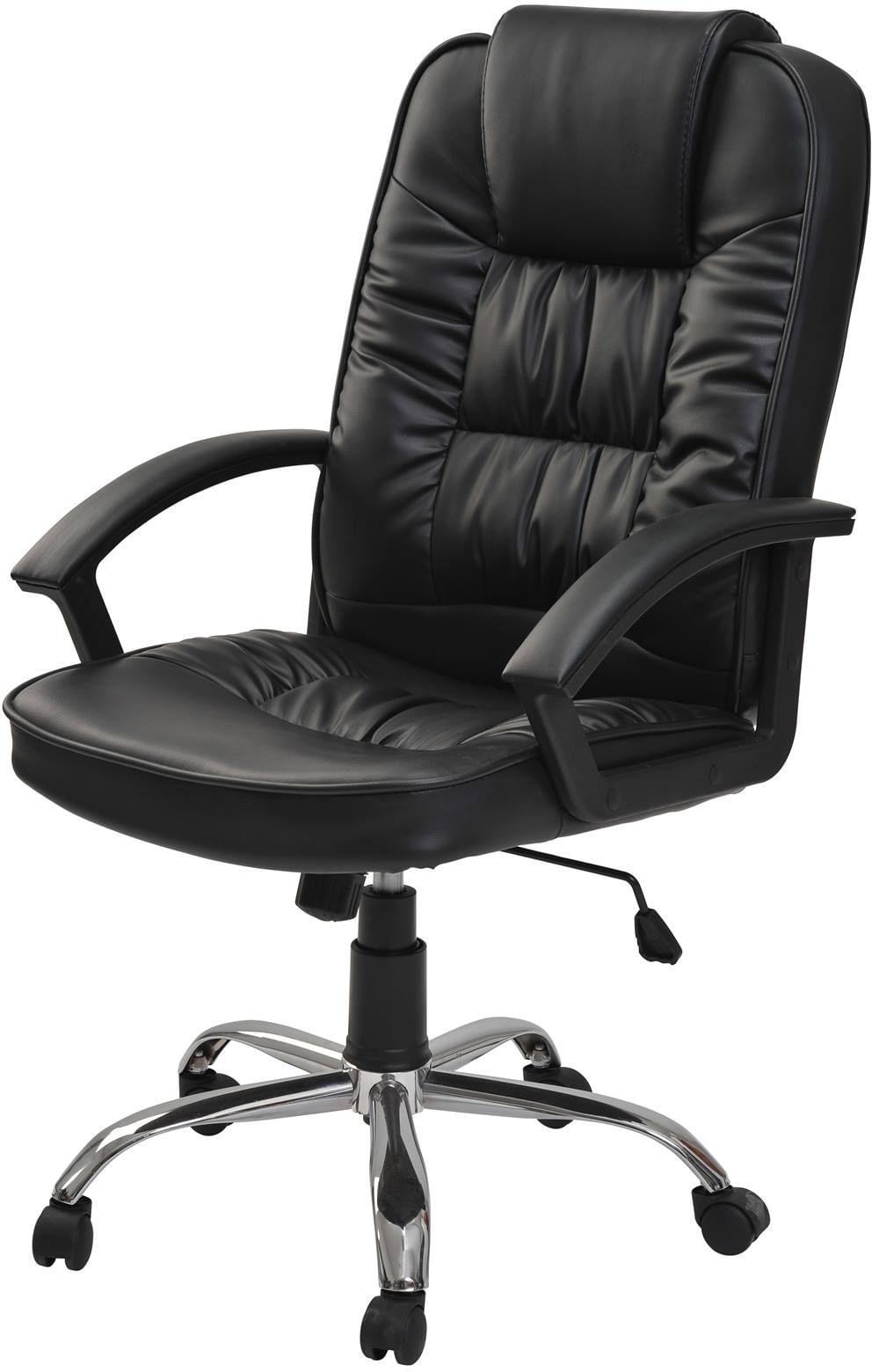 Cadeira Escritorio Albert Baixa Preta 1,20 MT (ALT) - 43441
