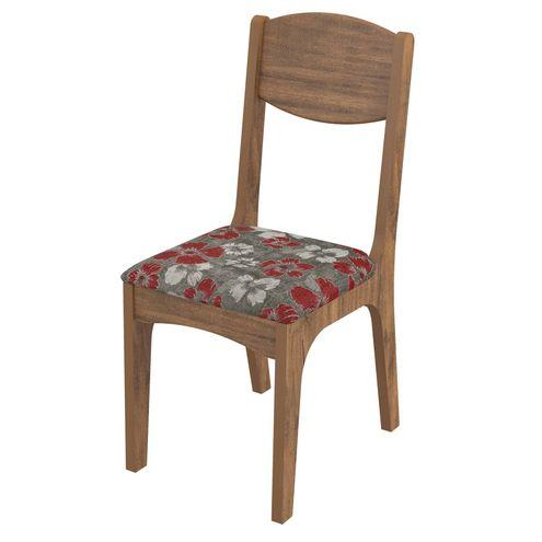Cadeira-Cassis-cor-Nobre-com-Estampado-Chenille-Floral-Vermelho---43672
