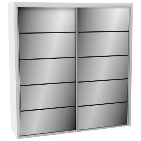 Roupeiro-2-Portas-de-Correr-238-MT-TW102E2-Espelho-cor-Branco-Brilho---43870