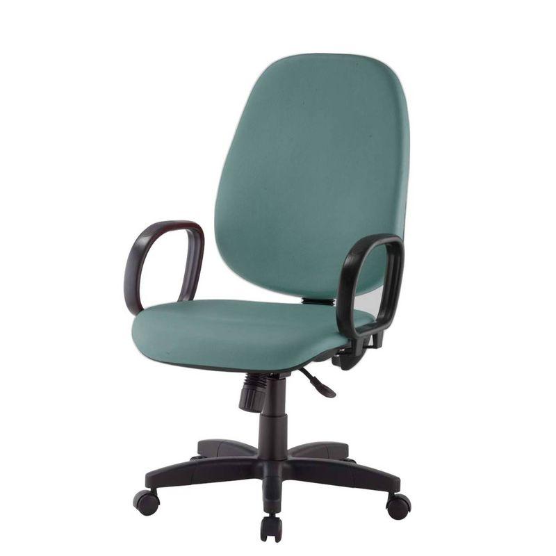 Cadeira-Corporate-Presidente-cor-Verde-com-Base-Nylon---43969-
