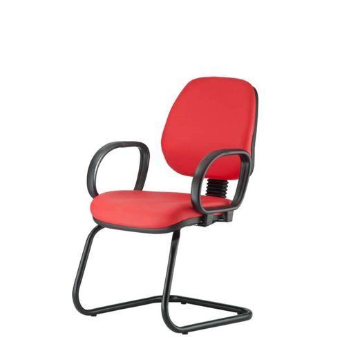Cadeira-Corporate-Executiva-cor-Vermelho-com-Base-Skim---43943