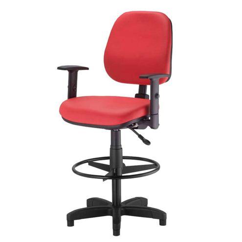 Cadeira-Corporate-Executiva-cor-Vermelho-com-Base-Caixa---43948
