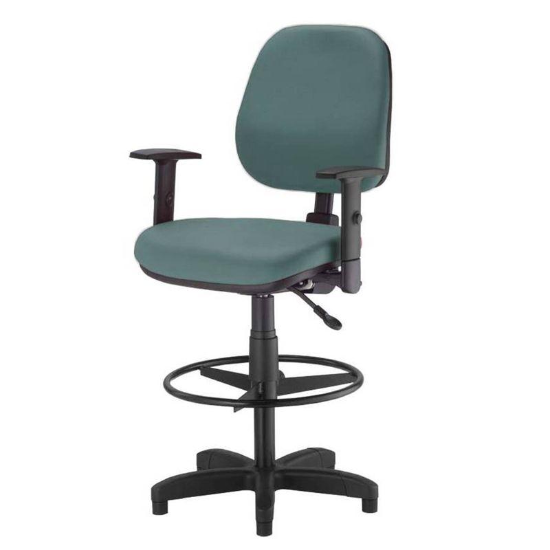 Cadeira-Corporate-Executiva-cor-Verde-com-Base-Caixa---43994-
